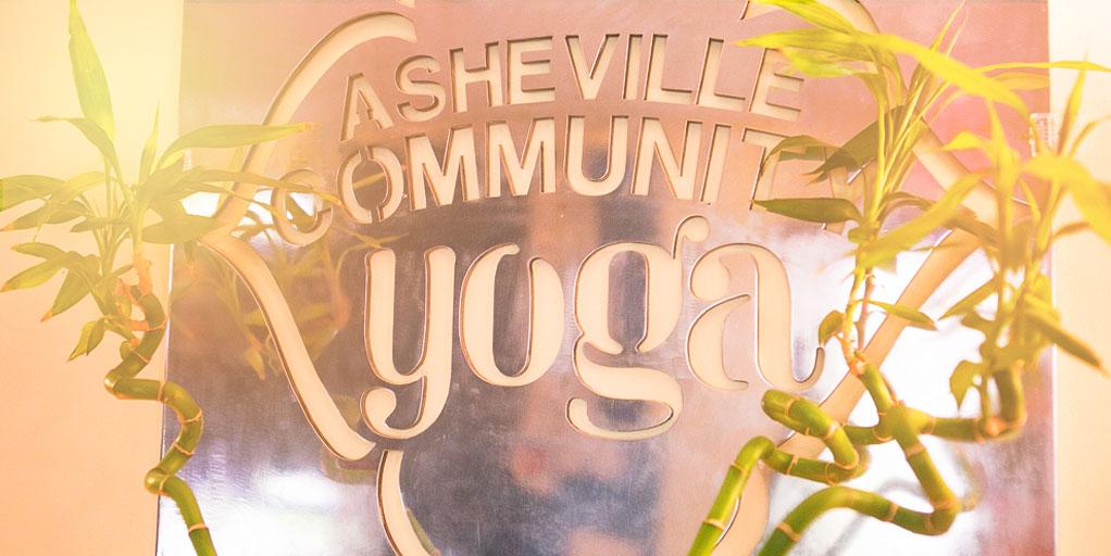 yoga signage